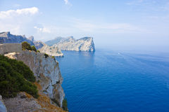 Cap de formentor view Royalty Free Stock Photo