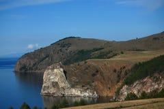 Cap de Hoboy, île d'Olkhon Photo libre de droits