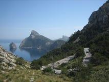 cap De Mallorca Formentor Hiszpanii obraz stock