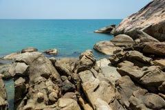 cap de mer et de roche Image libre de droits