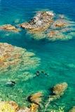 Cap de Peyrefite. Divers, Cap de Peyrefite, Languedoc-Roussillon, France Stock Photo