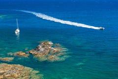 Cap de Peyrefite. Languedoc-Roussillon, France Royalty Free Stock Image