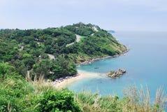 Cap de Promthep à l'île de Phuket image libre de droits