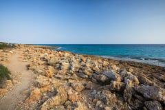 Cap de Ses Salines, Mallorca, Baleares Stock Image