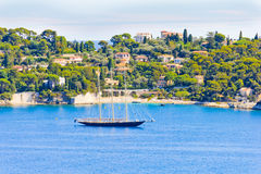 Cap Ferrat, French Riviera Royalty Free Stock Images