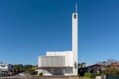 Cap Ferret, baie d'Arcachon, France Le DES Flots de Notre Dame d'église photographie stock libre de droits