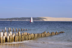 Cap-Ferret in France Stock Images