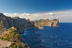 Cap Formentor Royalty Free Stock Images