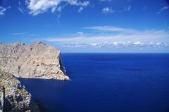 Cap Formentor Royalty Free Stock Photos