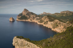 Cap Formentor - Long Exposure version. Mallorca, Spain Stock Photo