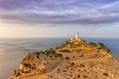 Cap Formentor Majorca Mallorca landscape nature Mediterranean Se. A Spain copyspace travel copy space Stock Images