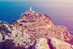 Cap Formentor, Majorca. (spain Stock Photography