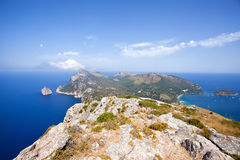 Cap Formentor, Majorque, Espagne photographie stock libre de droits