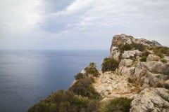 Cap Formentor Mallorca. Landscape at Cap Formentor Mallorca Stock Photography