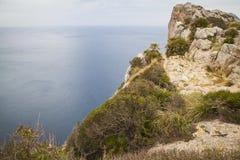 Cap Formentor Mallorca. Landscape at Cap Formentor Mallorca Royalty Free Stock Photography