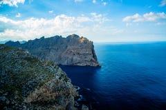 Cap Formentor, Mallorca, Spain. Rock Mountains Cap Formentor, Mallorca, Spain Royalty Free Stock Photography