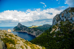 Cap Formentor, Mallorca, Spain Royalty Free Stock Photos