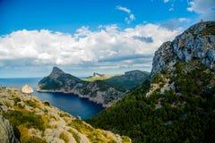 Cap Formentor, Mallorca, Spain. Rock Mountains Cap Formentor, Mallorca, Spain Royalty Free Stock Photos