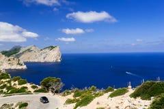 Cap Formentor Mallorca Spain. Sea and Cap Formentor Mallorca, Spain Royalty Free Stock Photography