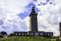 Cap Fréhel, Plévenon, Ille-et-Vilaine, Brittany, France. The lighthouse on the Cap Fréhel Royalty Free Stock Images