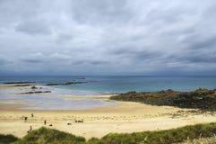 Cap Frehel (Brittany, France): the beach Royalty Free Stock Photography