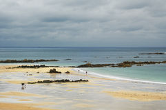 Cap Frehel (Brittany, France): the beach Royalty Free Stock Images
