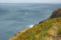 Cap Frehel (Brittany, France): the coast Royalty Free Stock Image