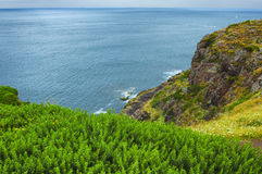 Cap Frehel (Brittany, France): the coast Royalty Free Stock Photo