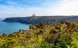 Cap Frehel - Brittany France Stock Photo