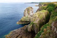Cap Frehel. Brittany, France Royalty Free Stock Photo