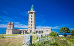 Cap Frehel Light hosue Royalty Free Stock Photo