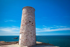 Cap Frehel Light hosue Royalty Free Stock Photography
