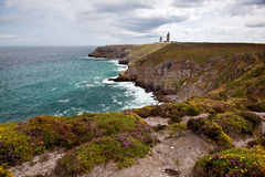 Cap Frehel with Lighthouse Royalty Free Stock Image