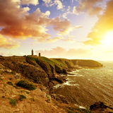 Cap Frehel - Northern France. Stock Photos