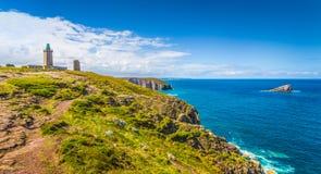 Cap Frehel peninsula, Bretagne, France Royalty Free Stock Images