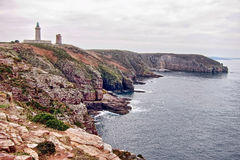 Cap Frehel on the Rocky Coast of Brittany France Royalty Free Stock Image