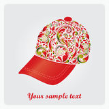 Cap for the game of golf. Royalty Free Stock Image