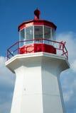 Cap gaspe lighthouse in Gaspesie, Quebec Stock Image
