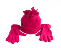 Cap and gloves Stock Photography