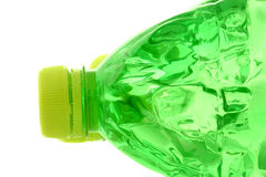 Cap at green bottle Royalty Free Stock Photography