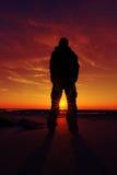 Cap Griz Sundown 5 Stock Photography