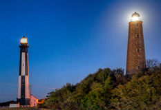 Cap Henry Lighthouses Images stock