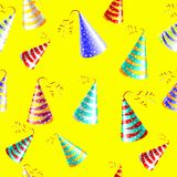 Cap holyday color carnaval holiday party vector Royalty Free Stock Photos