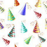 Cap holyday color carnaval holiday party vector Royalty Free Stock Image