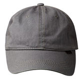 Cap isolated on white background. cap with a visor Stock Image