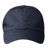 Cap isolated on white background. cap with a visor .blue cap Stock Photography