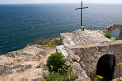 Cap Kaliakra, Bulgarie Photo libre de droits