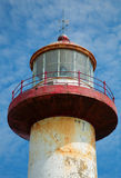 Cap madeleine lighthouse Stock Photos