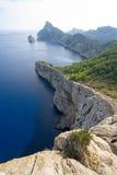 Cap on Majorca. Blue sea Stock Image