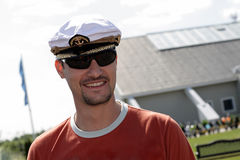 cap man s sailor Στοκ φωτογραφίες με δικαίωμα ελεύθερης χρήσης